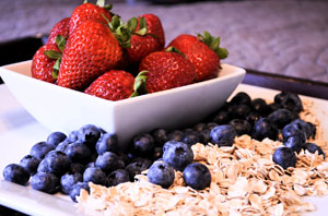 berry berry oatmeal